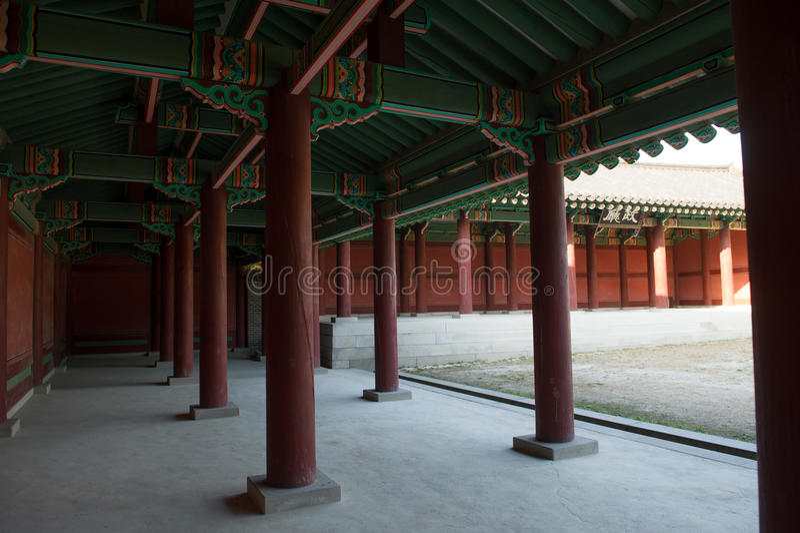 Palacio oriental fotografía de archivo libre de regalías