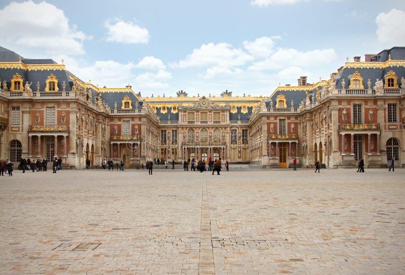 Palacio París de Versalles imagen de archivo libre de regalías