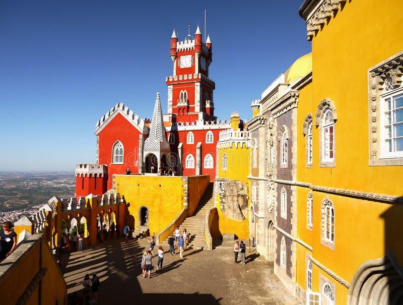 Palacio Portugal de Sintra imágenes de archivo libres de regalías