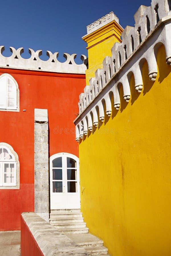 Palacio Portugal de Sintra fotos de archivo libres de regalías