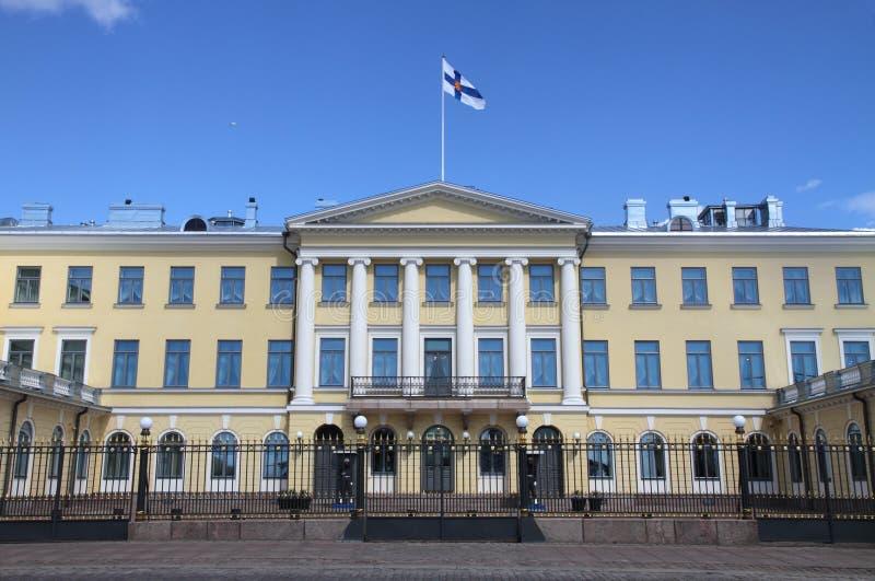 Palacio presidencial de Finlandia, Helsinki fotografía de archivo