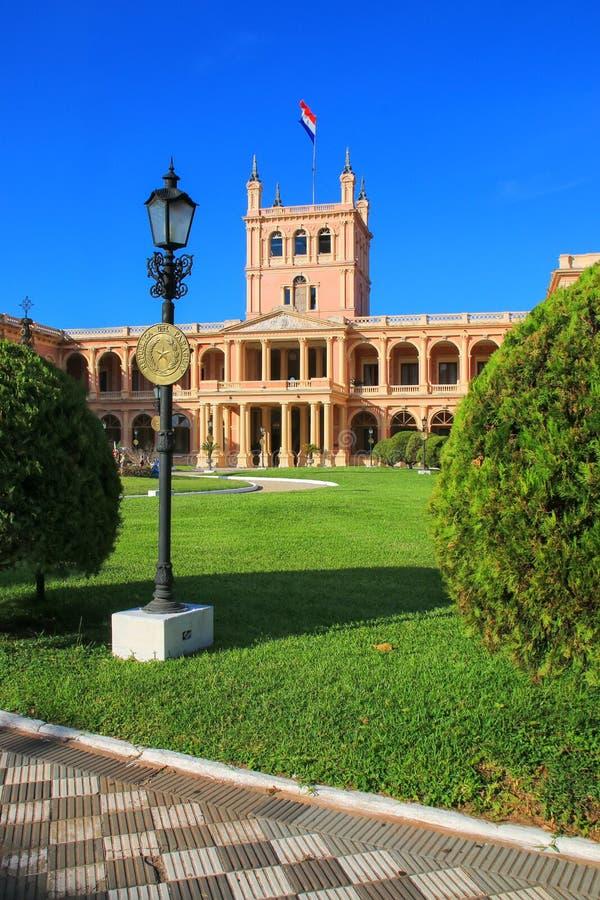 Palacio presidencial en Asuncion, Paraguay fotos de archivo libres de regalías