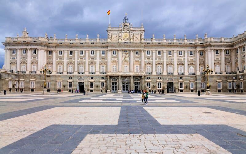 Palacio réel, Madrid, Espagne photos libres de droits