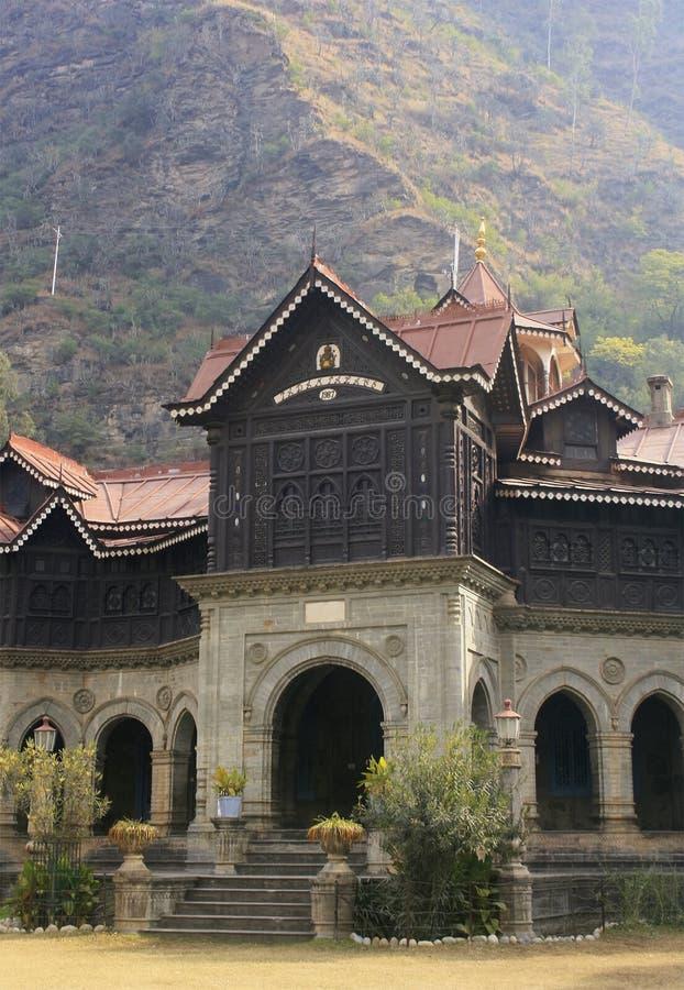 Palacio Rampur de Pabam fotografía de archivo libre de regalías
