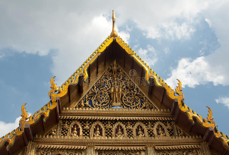 Palacio real en Bangkok Tailandia foto de archivo libre de regalías