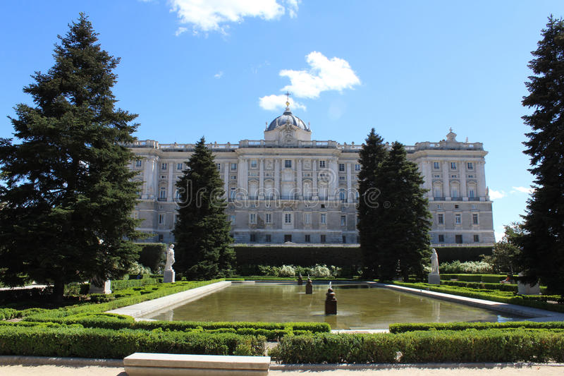 Palacio reale, Royal Palace, Madrid, Spagna fotografia stock