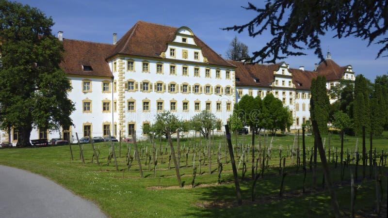Palacio Salem, monasterio cisterciense anterior fotos de archivo