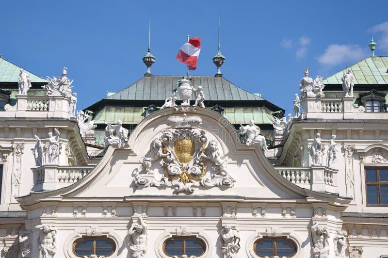 Download Palacio Superior Del Belvedere En Viena Foto de archivo - Imagen de monumental, monarca: 42444522