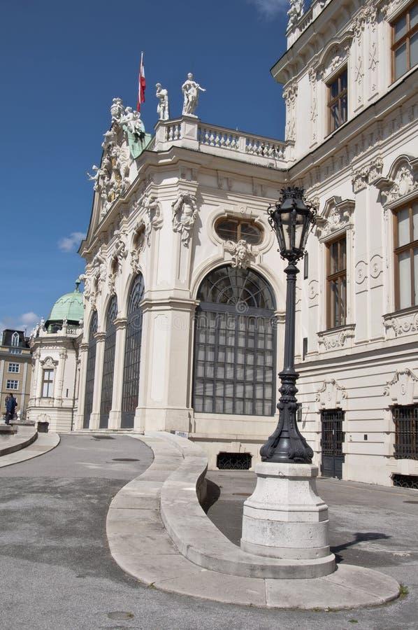 Download Palacio Superior Del Belvedere En Viena Foto de archivo - Imagen de chateau, puerta: 42444586