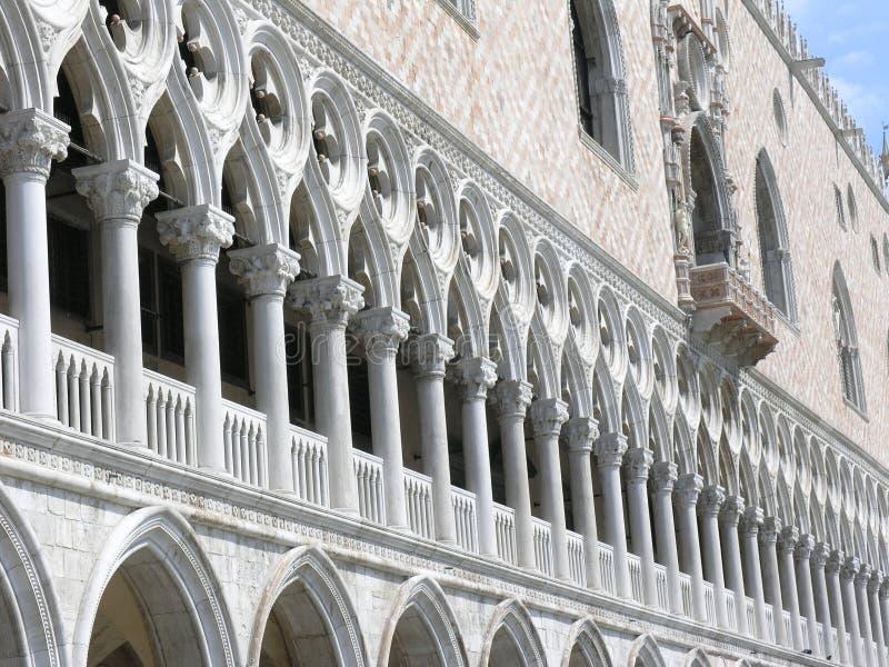 Palacio Venecia del dux imagenes de archivo