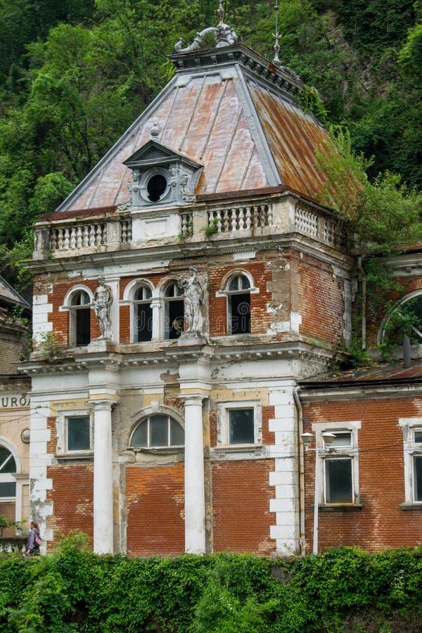 Palacio viejo 1880, ahora en ruinas los reyes y las reinas venían aquí curar diversas enfermedades con la ayuda de fotografía de archivo
