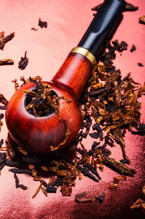 Palacz tabaczna drymba obraz stock