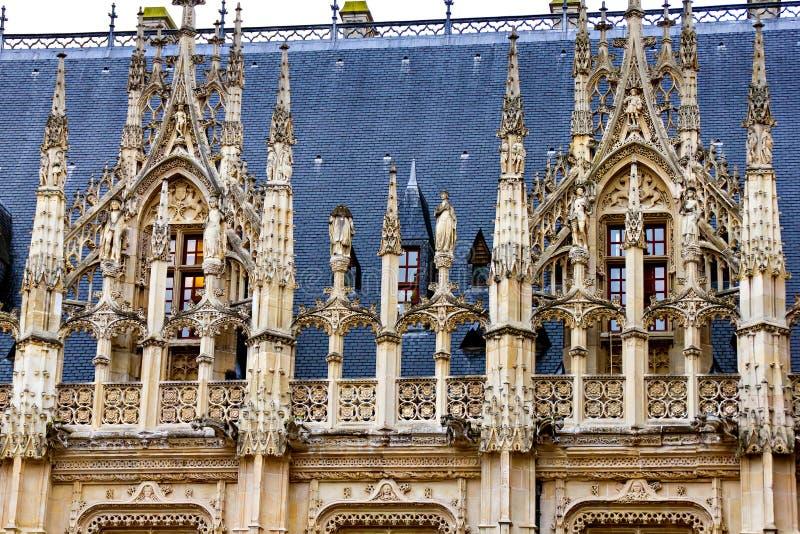 Palais à Rouen photo stock