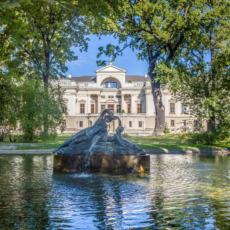 Palais Λιχτενστάιν στη Βιέννη στοκ εικόνες