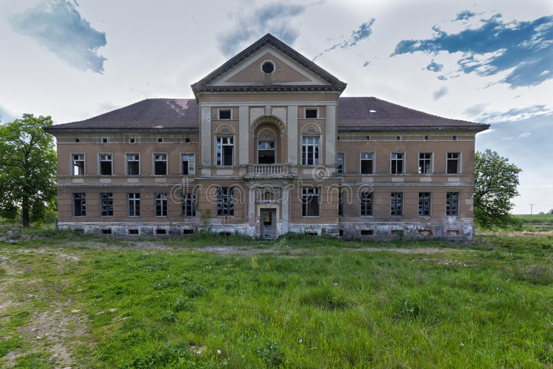 Palais abandonné photographie stock libre de droits