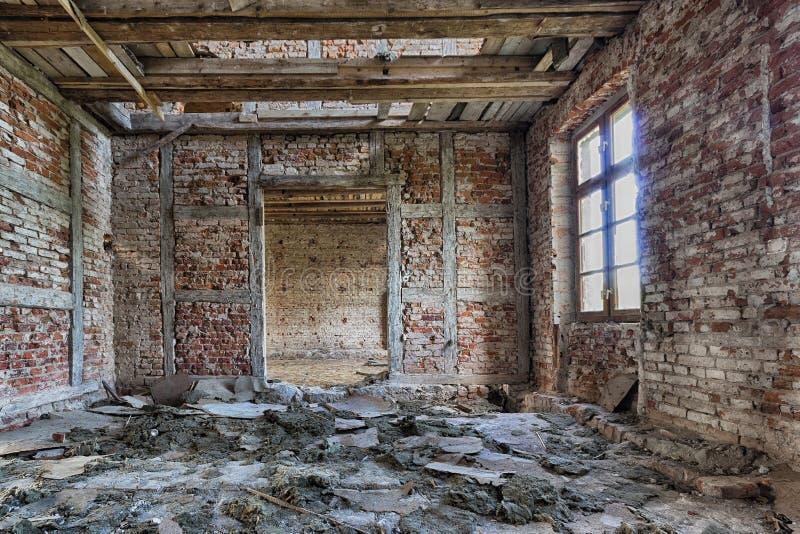 Palais abandonné photo libre de droits