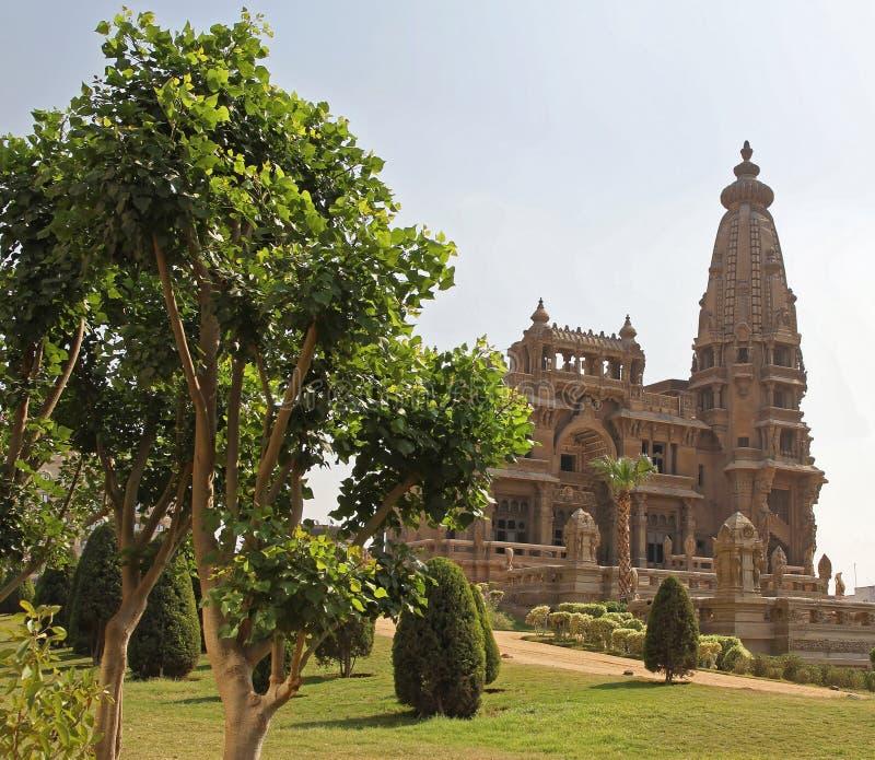 Palais abandonné le Caire image libre de droits
