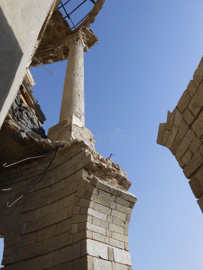 Palais Afghanistan de la Reine photo stock