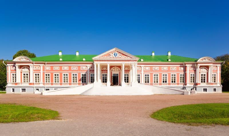 Palais au musée-patrimoine Kuskovo images libres de droits