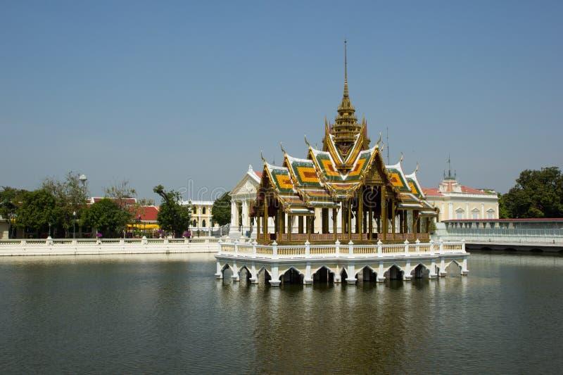 Palais Ayutthaya de douleur de coup image libre de droits