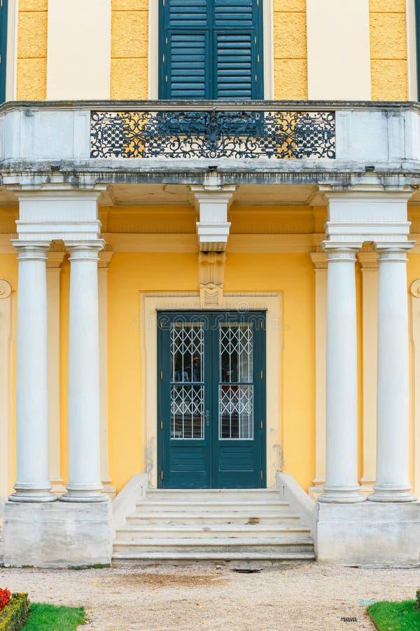 Palais baroque situé à Vienne, Autriche images stock