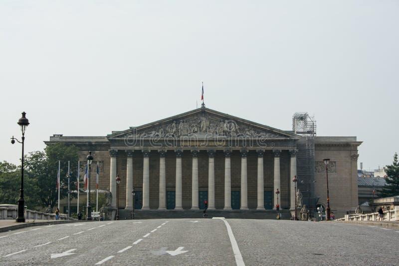 Palais Bourbon immagini stock libere da diritti