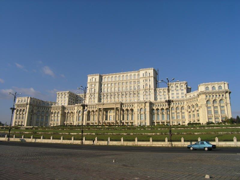 Palais Bucarest du Parlement photographie stock libre de droits