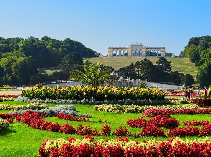 Palais célèbre de Schonbrunn à Vienne, Autriche photo libre de droits
