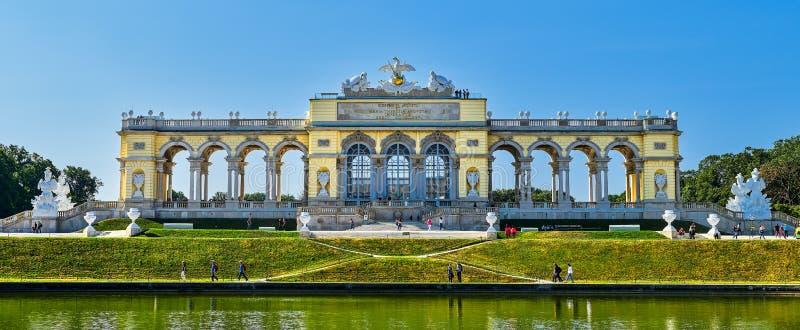 Palais célèbre de Schonbrunn à Vienne, Autriche photo stock