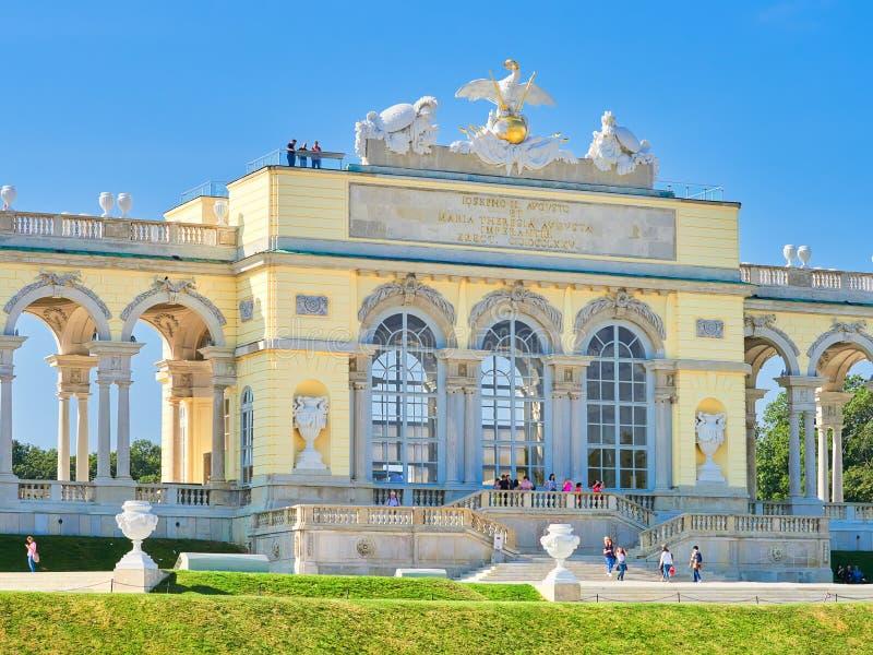 Palais célèbre de Schonbrunn à Vienne, Autriche image stock