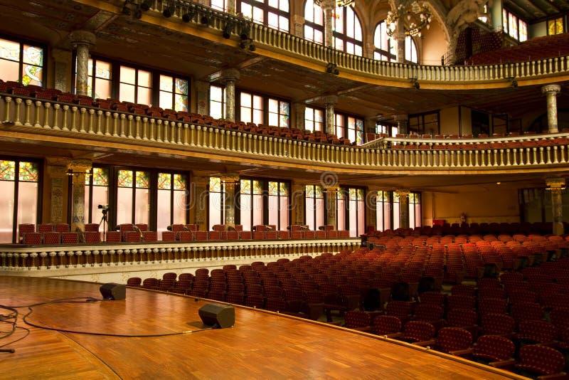 Palais catalan de musique photos libres de droits