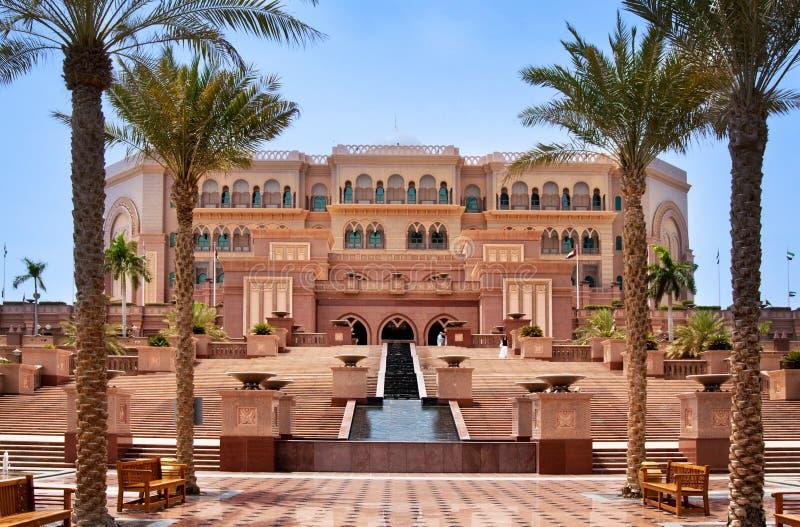 Palais d'émirats en Abu Dhabi photos libres de droits