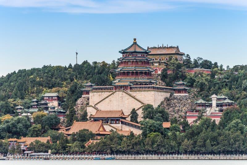 Palais d'été à Pékin images libres de droits