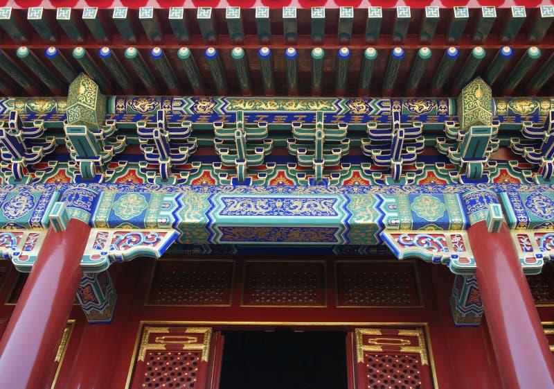 Palais d'été dans Pékin images libres de droits
