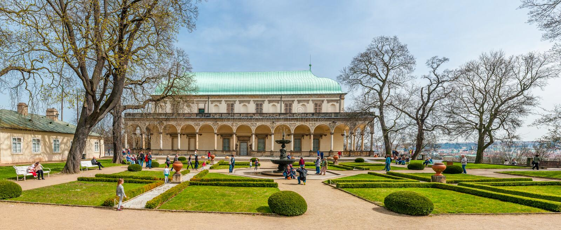 Palais d'été de la Reine Anne images stock