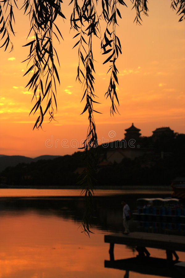 Palais d'été de Pékin image stock