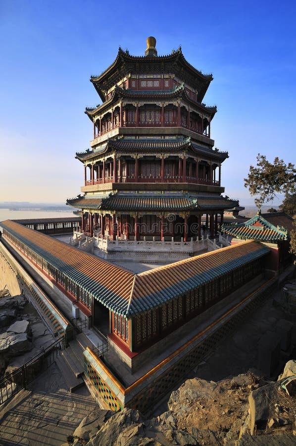 Palais d'été de Pékin, Chine photo stock