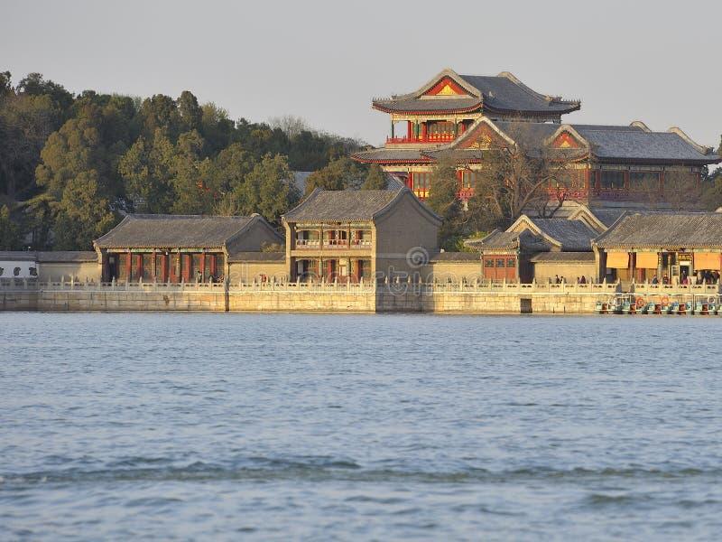 Palais d'été, Pékin, Chine photo stock