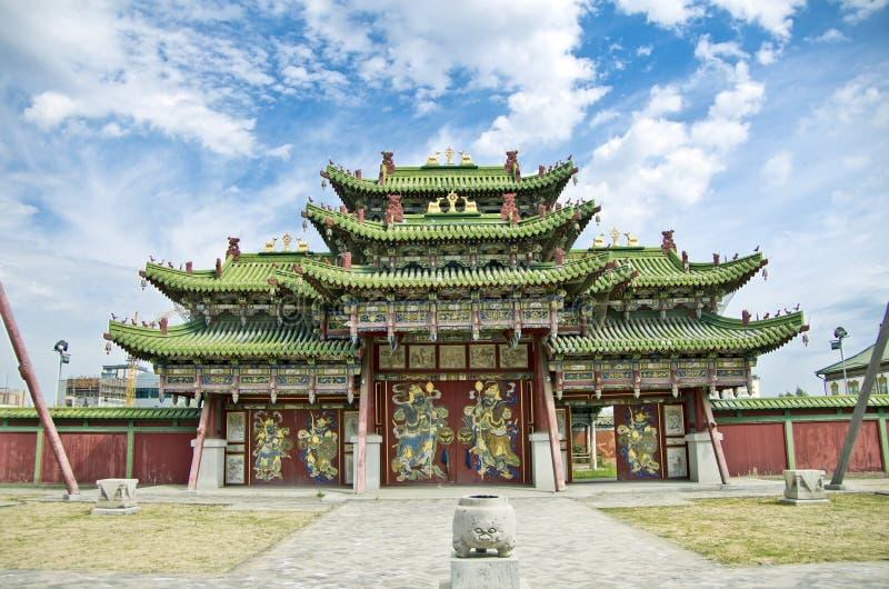 Palais d'été, Ulaanbaatar image stock