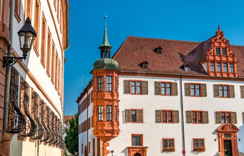 Palais d'évêques à Wurtzbourg, Allemagne photo stock