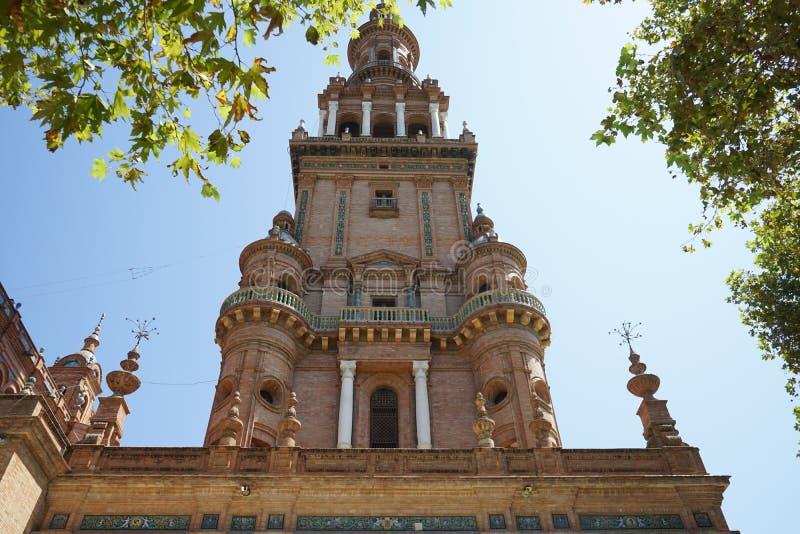 Palais d'Alcazar à Séville Espagne photographie stock