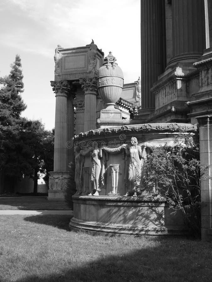 Palais d'allégement d'beaux-arts photo stock