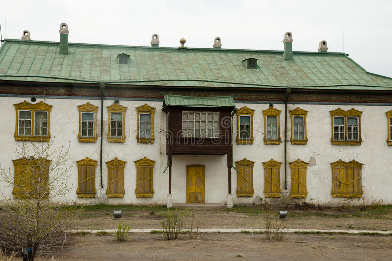 Palais d'hiver de Bogd Khan - Ulaanbaatar - la Mongolie image libre de droits