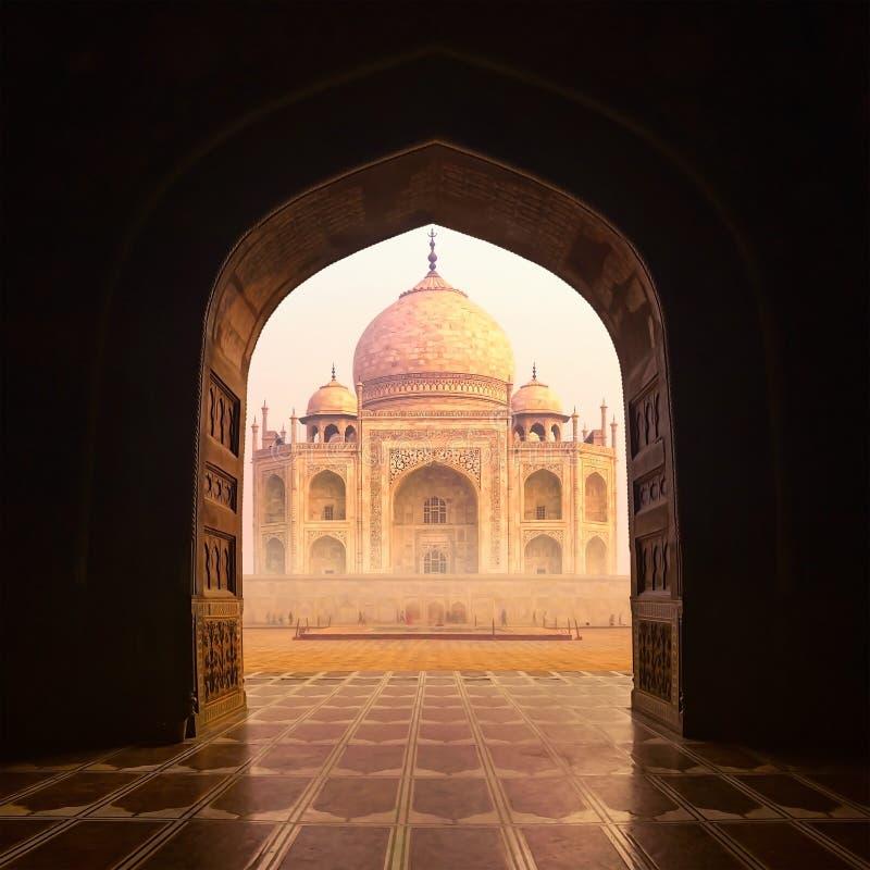 Le Taj Mahal Inde images libres de droits