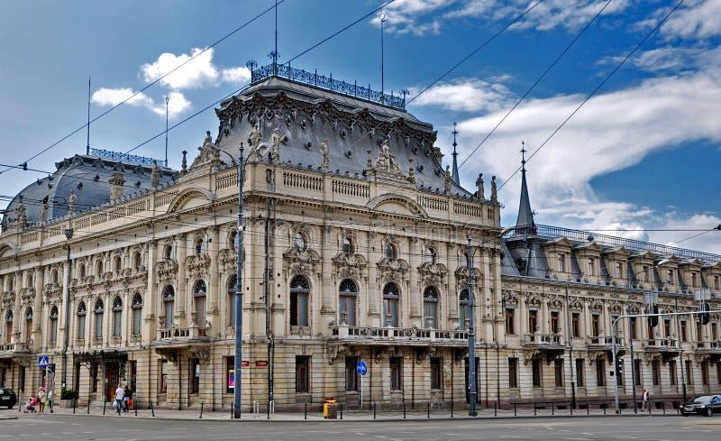 Palais d'Izrael Poznanski photos libres de droits