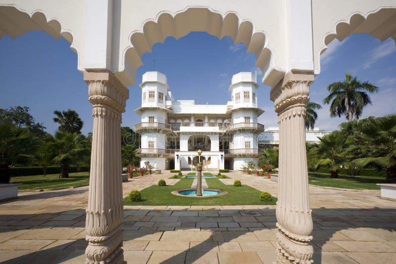 Palais d'Usha Kiran - Gwalior - Inde image stock