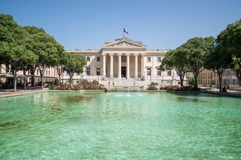 Palais de Правосудие Франция - марсель стоковые фото