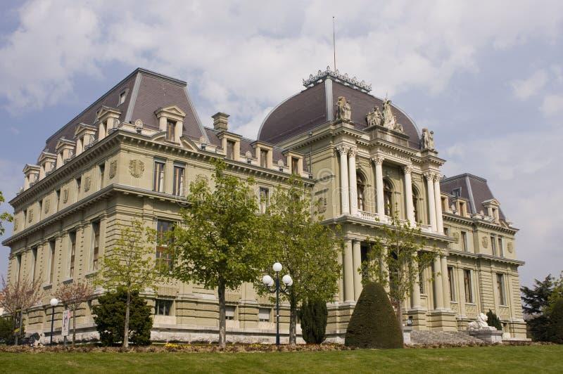 palais de правосудия стоковая фотография rf