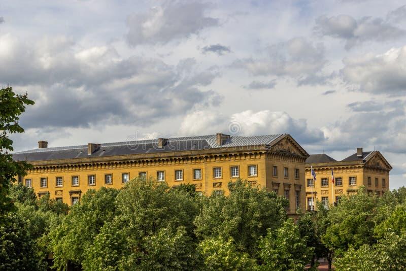 Palais de Правосудие, Мец, Лорен, Франция стоковая фотография