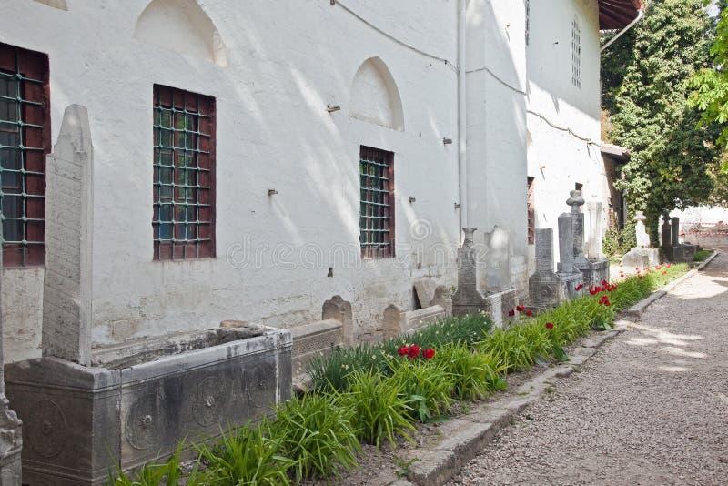 Palais de Bakhchisaray, cimetière images libres de droits